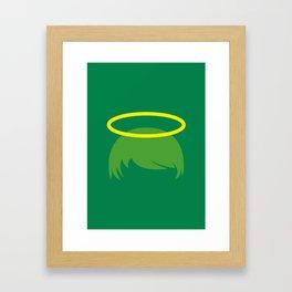 PAUSE – Halo Framed Art Print