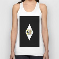 sushi Tank Tops featuring Sushi by CforCel