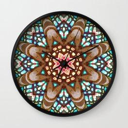 Sagrada Familia - Vitral 1 Wall Clock