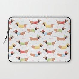 Cute Bassotti Laptop Sleeve