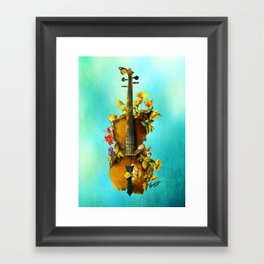 Undying Symphony Framed Art Print