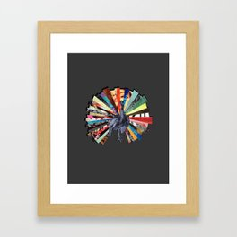 Take Your Vitamins! Framed Art Print