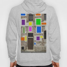 Wall Of Many Colors Hoody