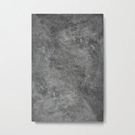 Photography Backdrop: Gray/Grey Metal Print