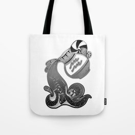 Aquarius Skull Zodiac Sign For Jane and February Birth Day Gift Tote Bag