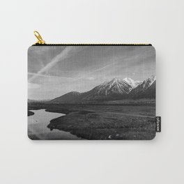 Black and White Nevada Carry-All Pouch