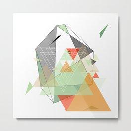 Midcentury geometrical abstract nr. 002 Metal Print