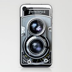 Flexaret Vinatge Camera iPhone & iPod Skin