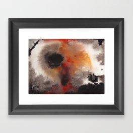 M A G M A Framed Art Print