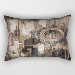 Rusty Cage Rectangular Pillow