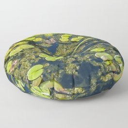 Lilly Pad Pond Floor Pillow