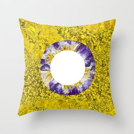 Floral Blooms I Throw Pillow