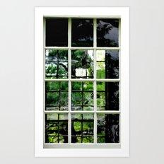 Square Windows Art Print