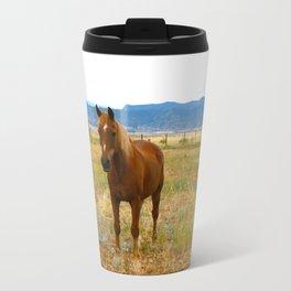 Horsies  Travel Mug