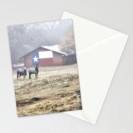 Texas Barn Stationery Cards