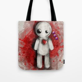 Halloween Theme [Voodoo Doll] Tote Bag