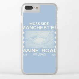 Maine Road Football Ground Clear iPhone Case