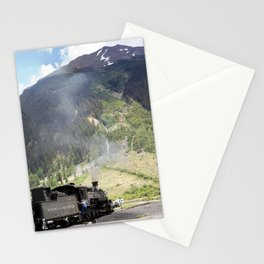 Waiting Under the Towering 13,066-foot Kendall Mountain Stationery Cards
