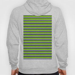 Green Stripes of Spring Hoody