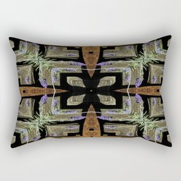 Patterned Lavender - Lavandula Rectangular Pillow
