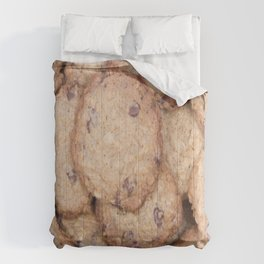 Yummy Chocolate Chip Cookies Comforters