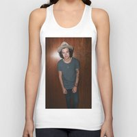 one direction Tank Tops featuring One Direction by behindthenoise