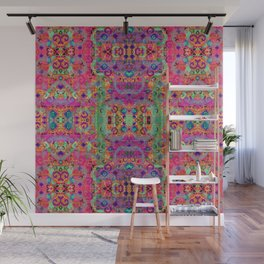 March Pattern Wall Mural