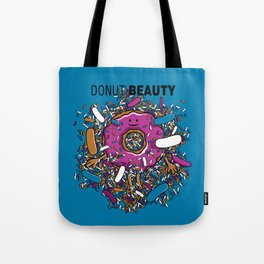 Donut Beauty Tote Bag