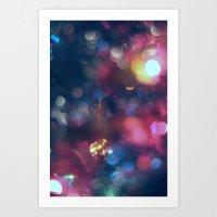 the lights Art Prints featuring Lights by Jeremy Jon Myers