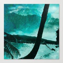 Tempest Island (Colder Version) Canvas Print