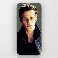 bill iPhone & iPod Skins featuring Bill by Aubrey Meeks