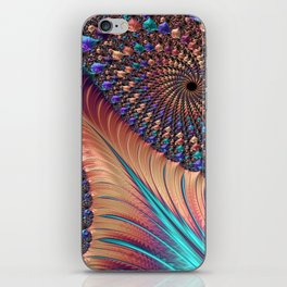 Carnival Bronze iPhone Skin