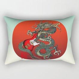 Dragon BassGuitar 01 Rectangular Pillow