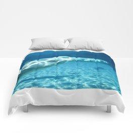 Ocean Blue Beluga Pairs Version 1 Comforters