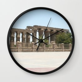 Temple of Luxor, no. 25 Wall Clock