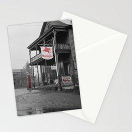 Mobilgas Stationery Cards
