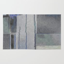 Blues and Grays Rug