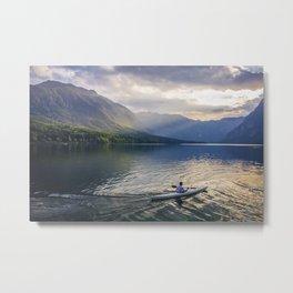 bohinj lake Metal Print
