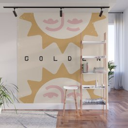 You're So Golden Wall Mural