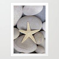 starfish Art Prints featuring Starfish by LebensART Photography