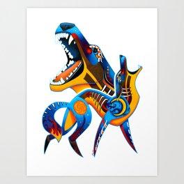 Oaxacan Coyote Art Print