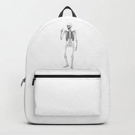 Skeleton One Finger Backpack