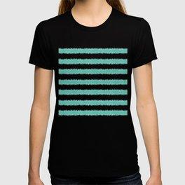 Ikat Stripe Sea Green T-shirt