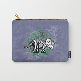 Triceratops Fossil Carry-All Pouch