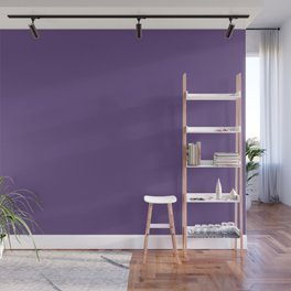 Dunn and Edwards 2019 Curated Colors Violet Majesty (Vivid Purple) DEA142 Solid Color Wall Mural
