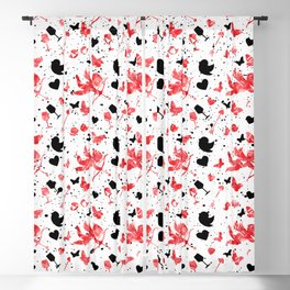 Cute Love Design Blackout Curtain
