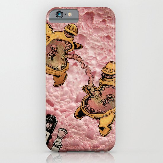 One Thousand Pardons: TummyBuddies: Psychic Warriors Connected by their Bellies iPhone & iPod Case