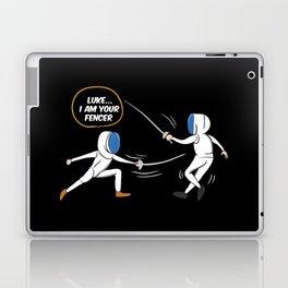 Luke I Am Your Fencer Laptop & iPad Skin