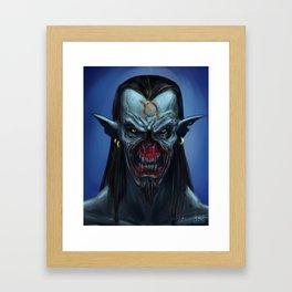 The Vampire Framed Art Print