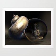 Mystic Buddha Art Print